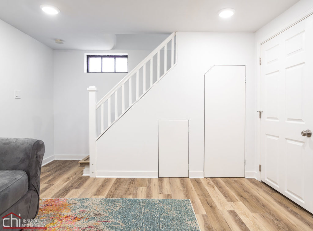 CHI | Evanston Basement Staircase Remodel