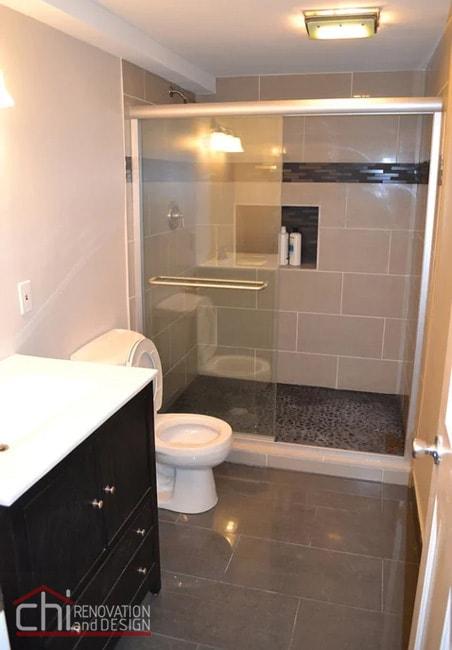 Janets Basement Bathroom Remodel