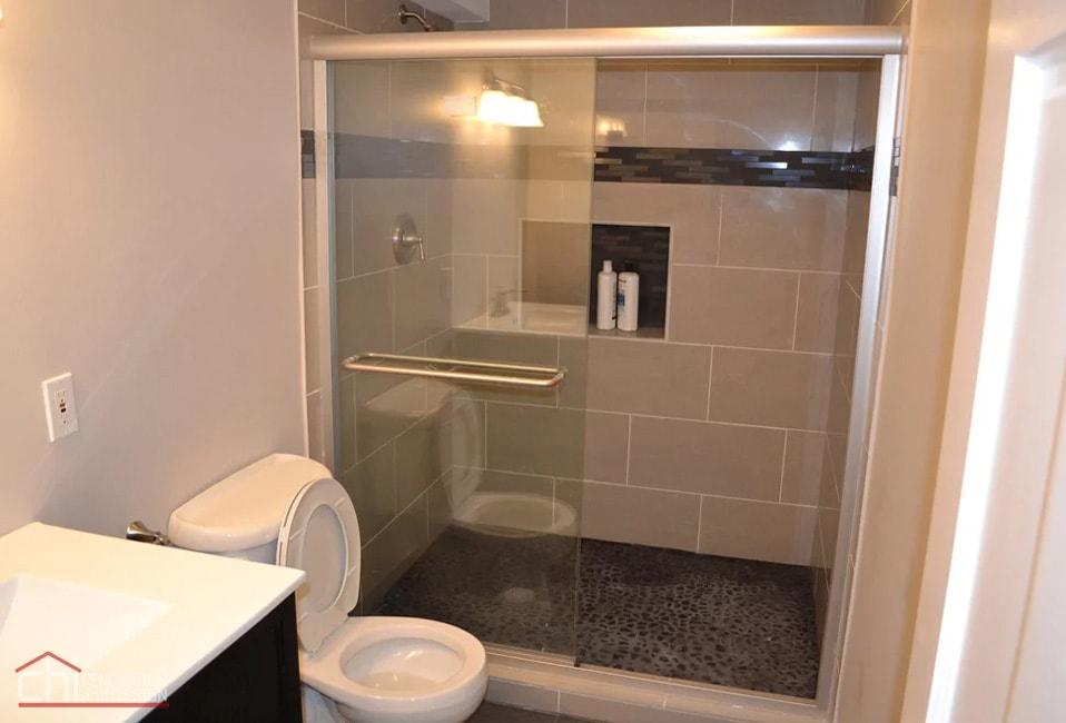 Janets Basement Bathroom Shower Remodel