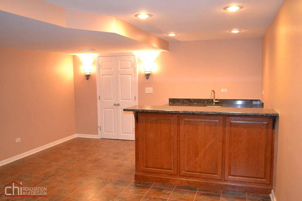Janets Basement Kitchen Countertop Remodel