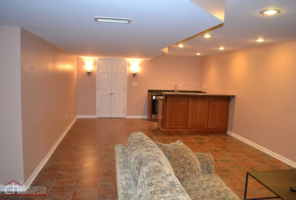 Janets Basement Kitchen Remodelers