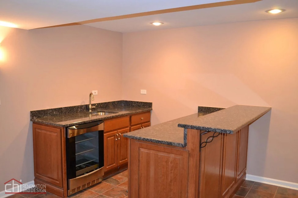 Janets Basement Kitchen Sink Remodel