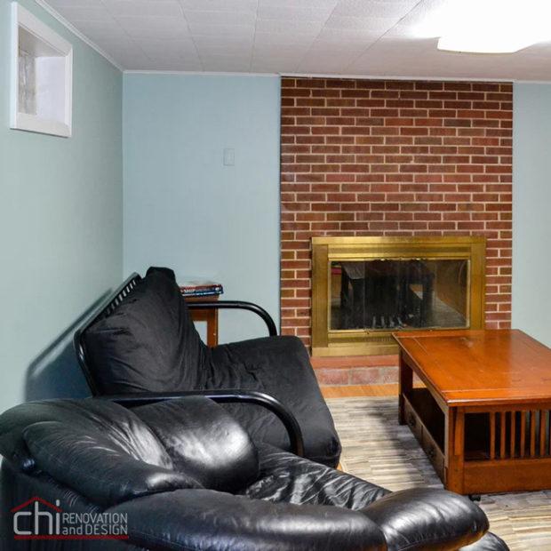 Nitzas Basement Living Area Remodel
