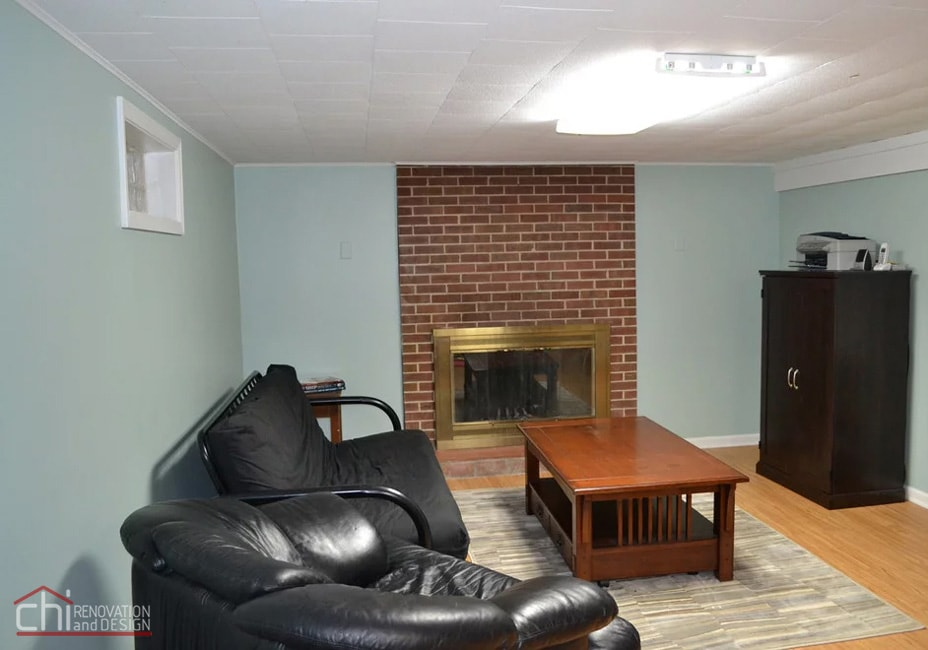 Nitzas Basement Living Room Remodel