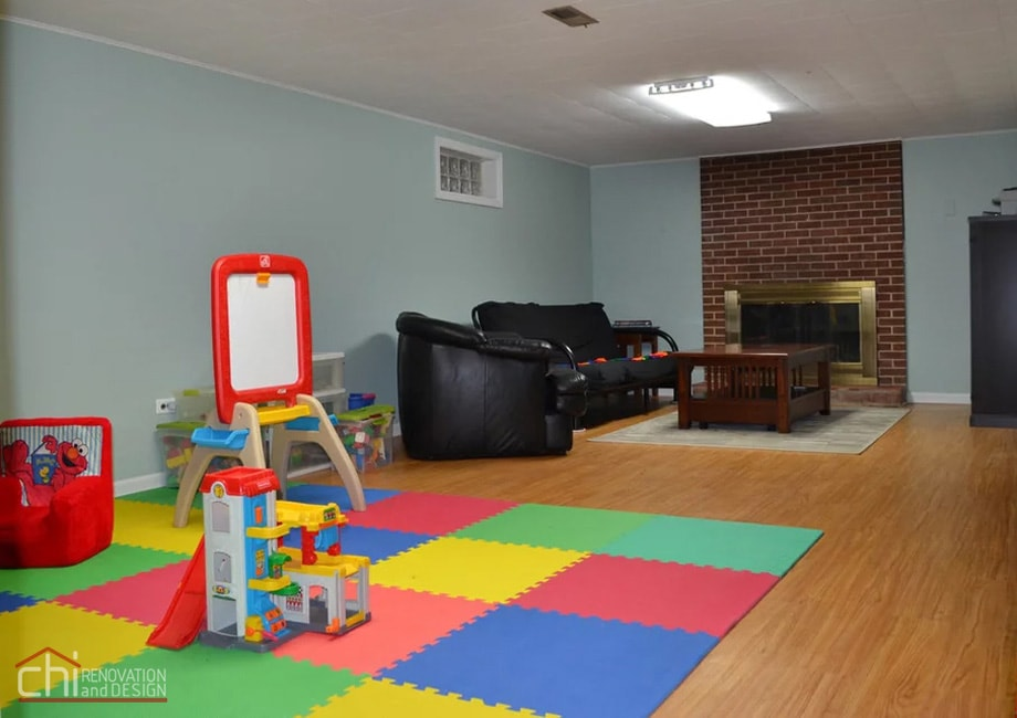 Nitzas Basement Living Room Renovation