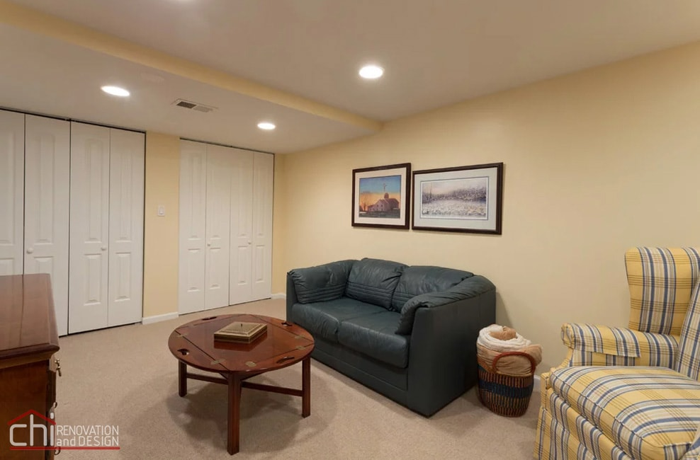 Small Basement Living Room Remodeling