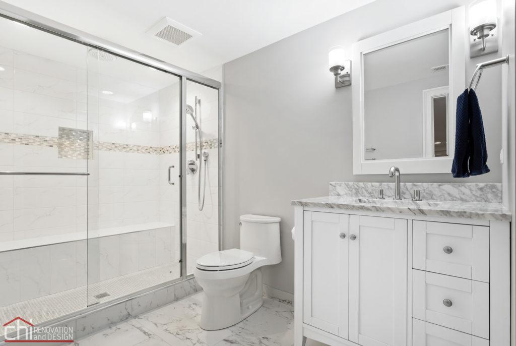 Barrington Basement Bathroom Remodeling