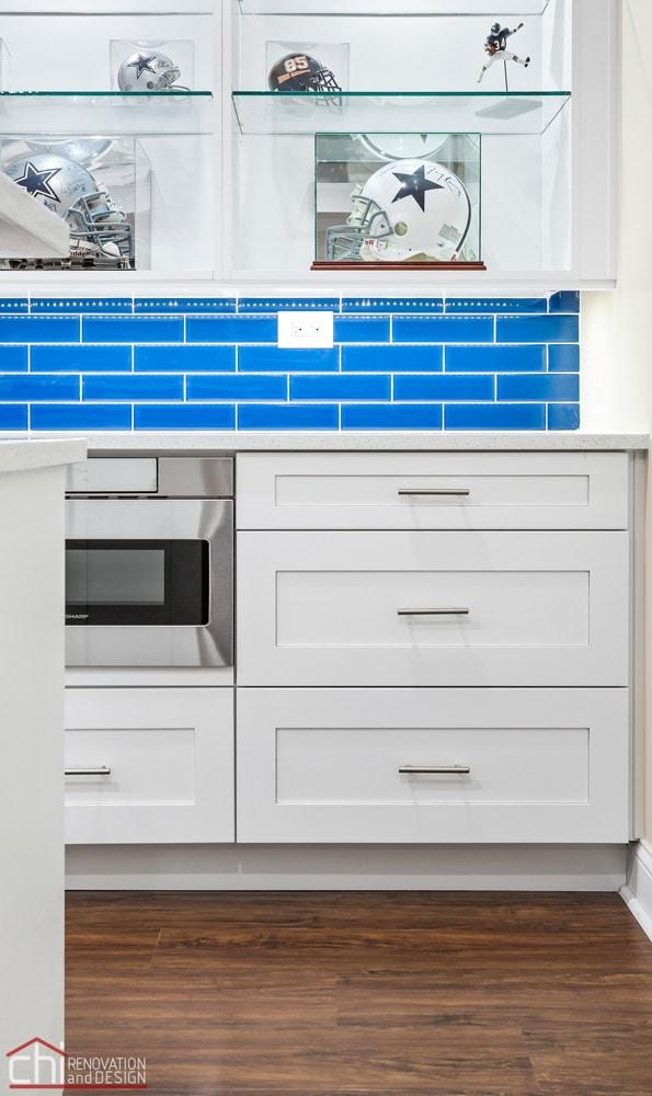 Barrington Basement Cabinet Remodel