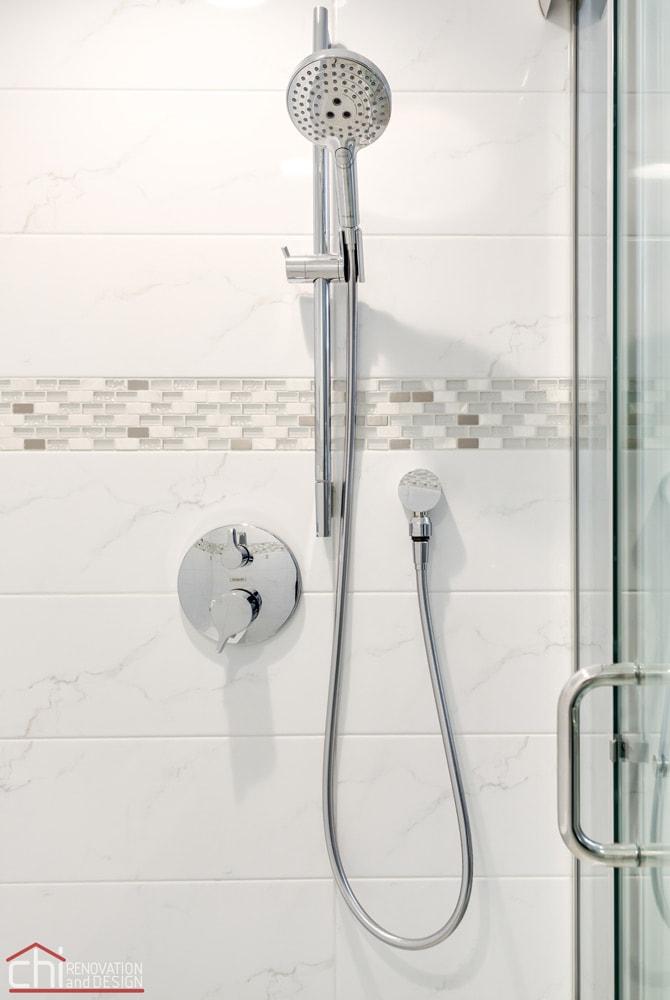 Barrington Basement Shower Design Remodel
