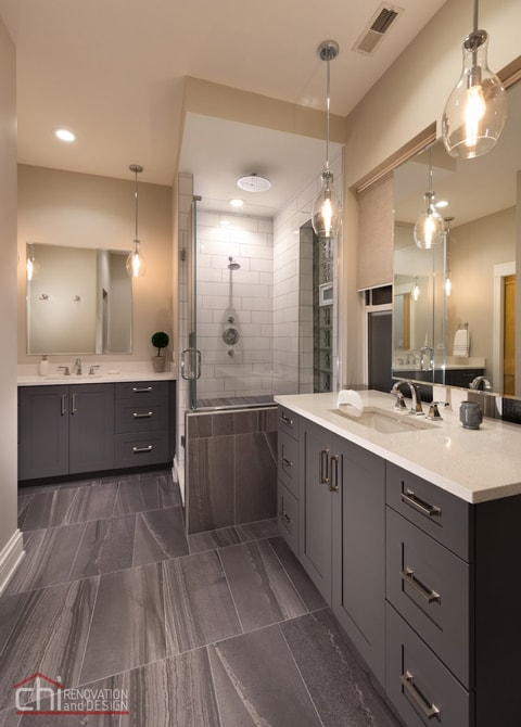 Chicago West Town Bathroom Design