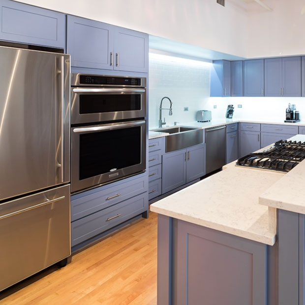 Kitchen Remodel Downtown Condo