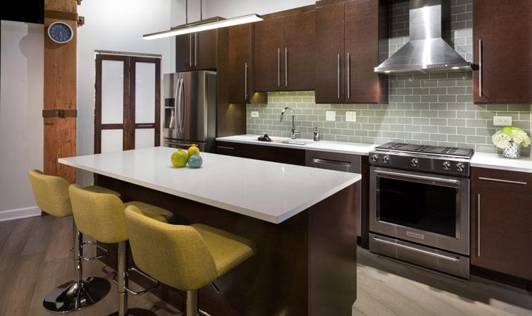 CHI | Modern Rustic Chicago Kitchen Remodel