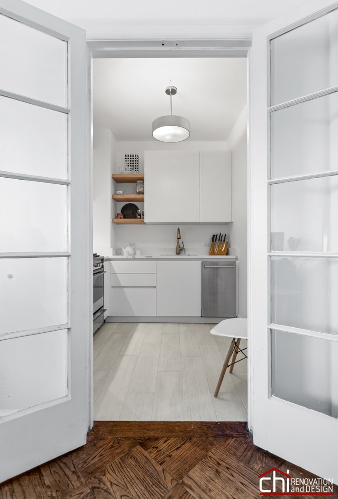CHI | Compact Kitchen Design Build Chicago