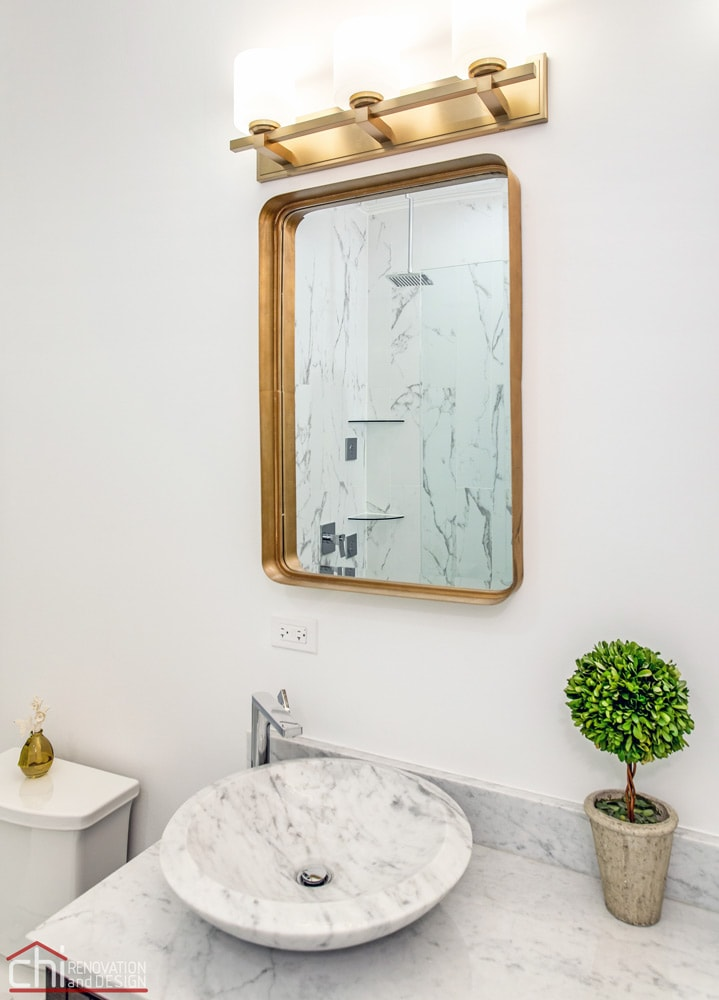 CHI | Ranch Triangle Master Bathroom Renovation Chicago