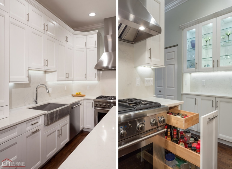 North River Kitchen Shaker Cabinets