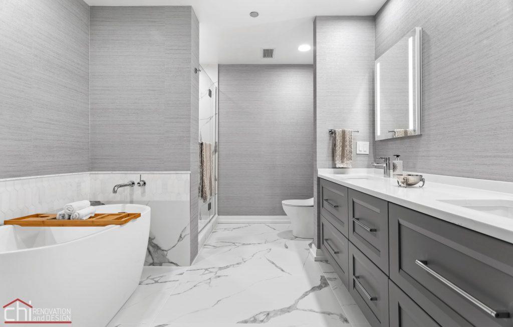 Chi | Chicago Condo Remodel Master Bath