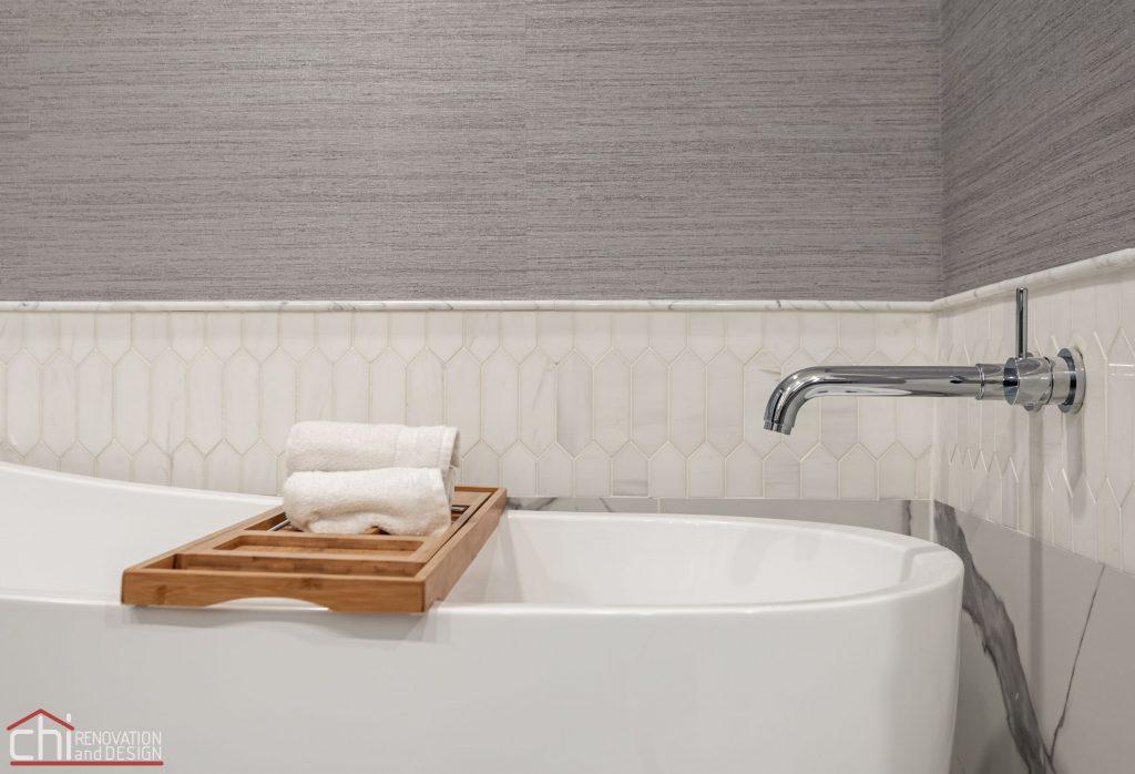 Chi | Chicago Condo Remodel Master Bath Bathtub