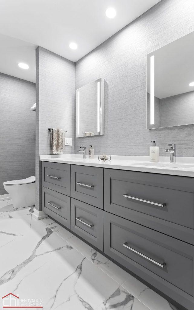 Chi | Chicago Condo Remodel Master Bath Commode