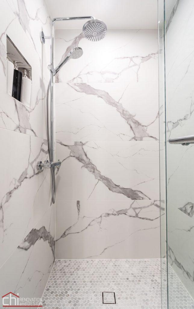 Chi | Chicago Condo Remodel Master Bath Shower