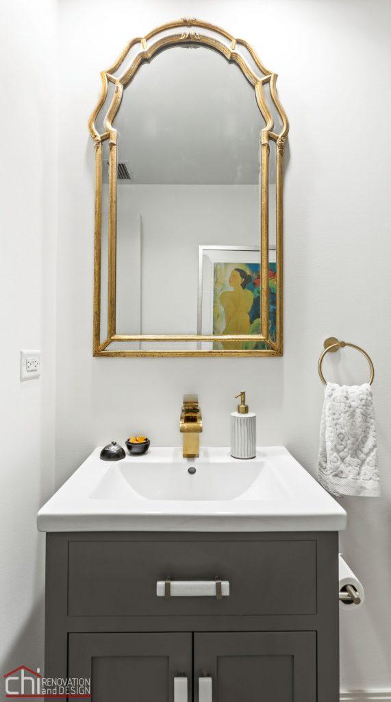 Chi | Chicago Condo Remodel Bath Single Sink