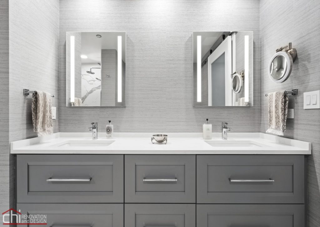 Chi | Chicago Condo Remodel Master Bath Sink