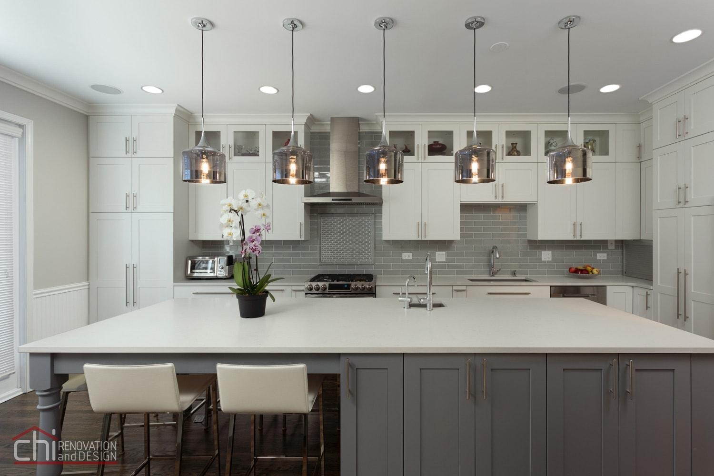Chi   Contemporary Kitchen Renovation Chicago