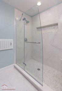 Lakeview Master Bathroom Shower Remodel