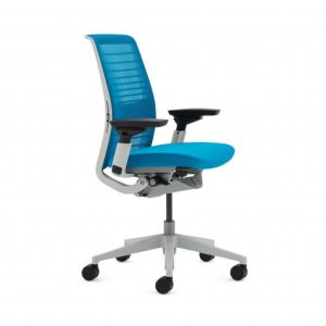 Think Chair Blue Jay 3 4 Front